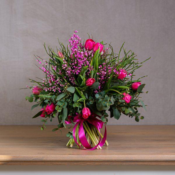 tulipánová kytica
