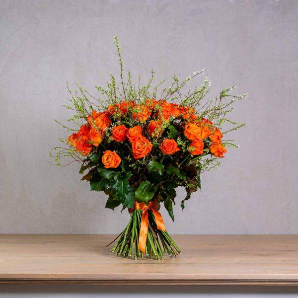 Gratulačná kytica z ruží