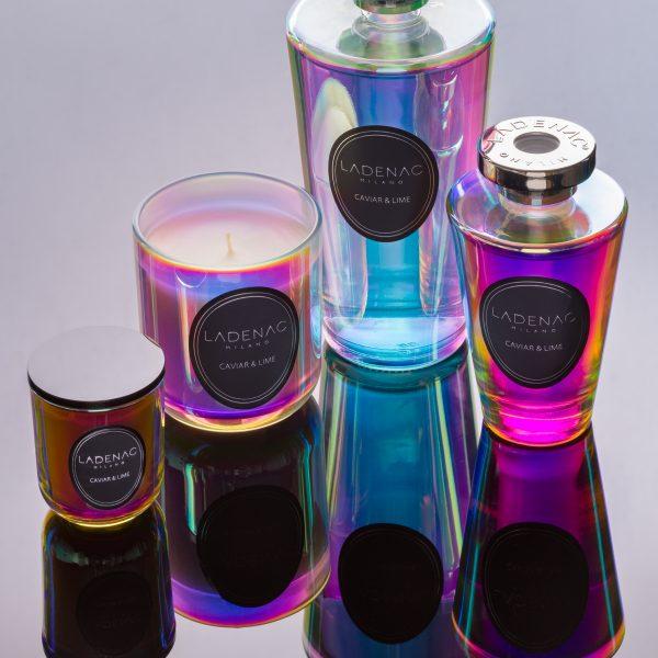 LADENAC Urban Senses Caviar Lime vonná sviečka (200 g) v darčekovom balení